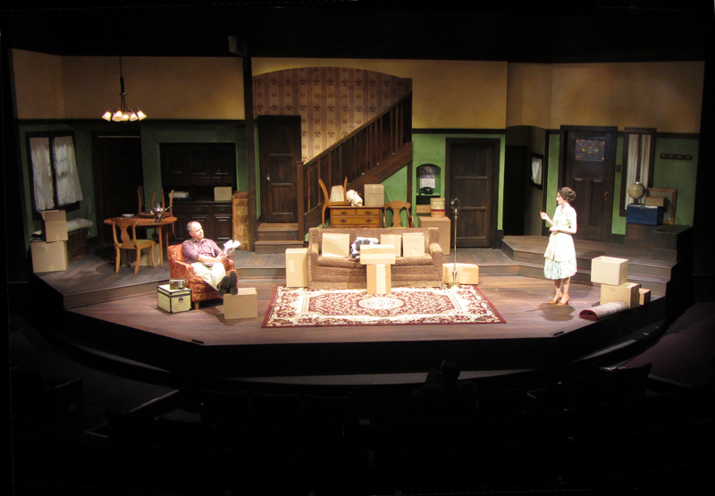 Clybourne Park Set Design At The San Diego Repertory Theatre