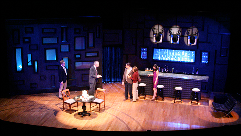 Scenic Design by Robin Sanford Roberts for Love in American Times