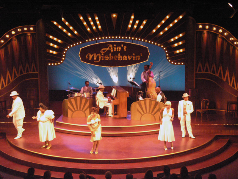Set Design for Ain't Misbehavin