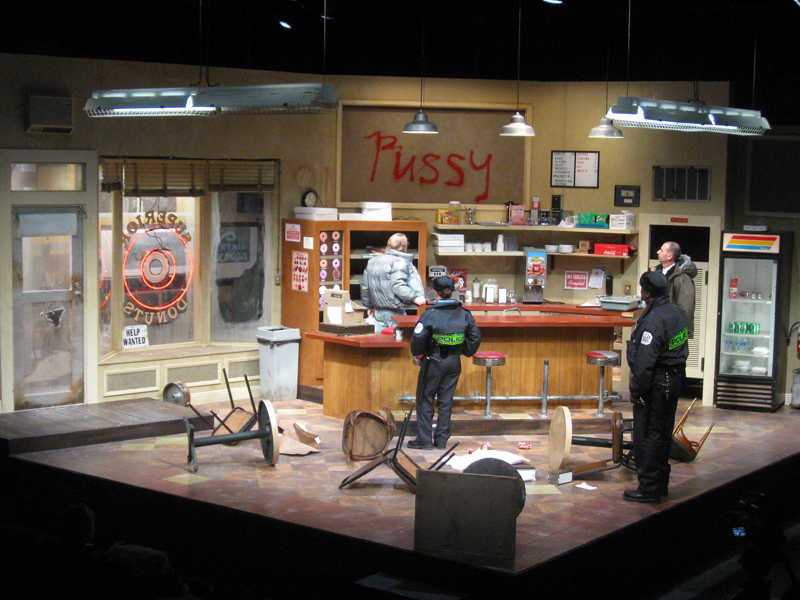 Scenic Design for Superior Donuts